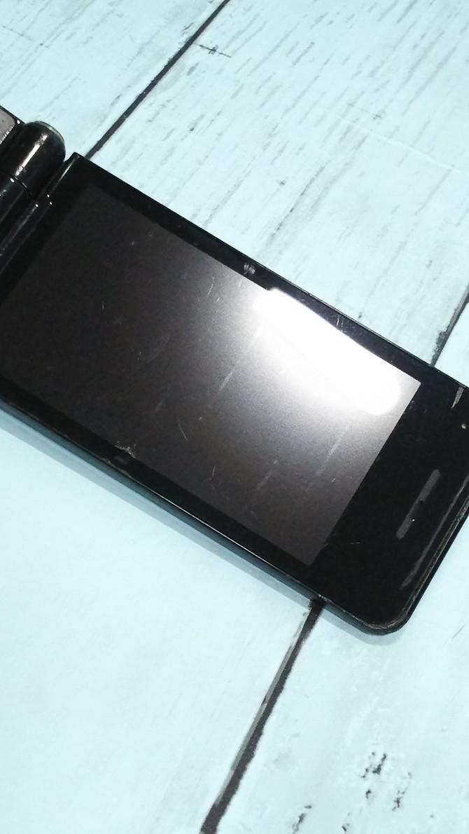 docomo Panasonic P-smart ケータイ P-01J ブラック 本体 白ロム SIMロック解除済み SIMフリー 371689_画像5
