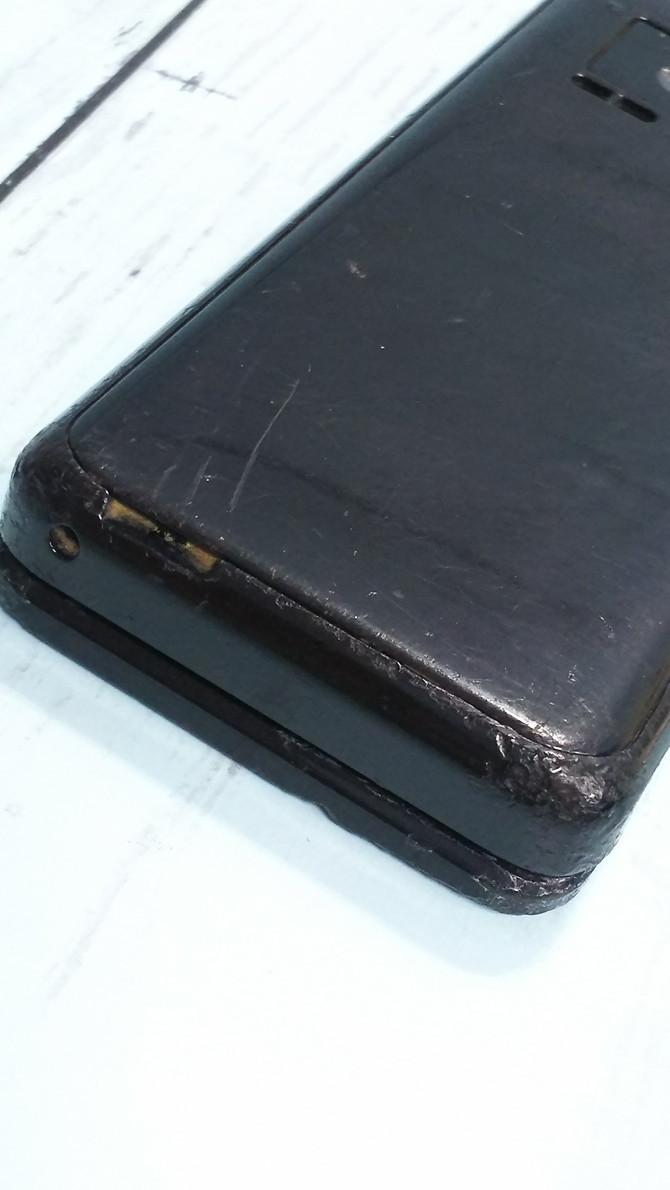 docomo Panasonic P-smart ケータイ P-01J ブラック 本体 白ロム SIMロック解除済み SIMフリー 371689_画像10
