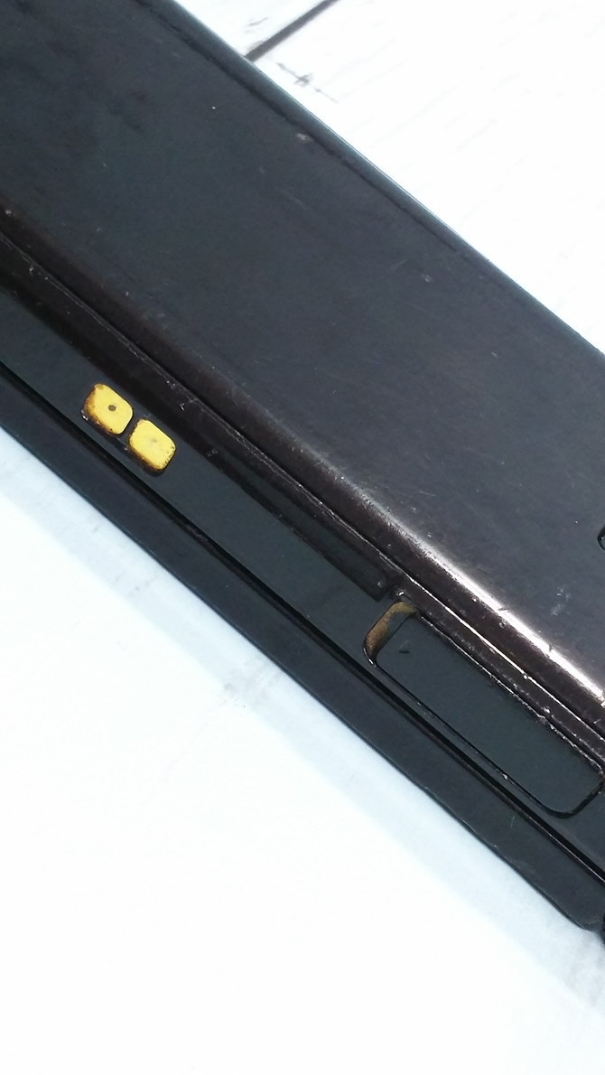 docomo Panasonic P-smart ケータイ P-01J ブラック 本体 白ロム SIMロック解除済み SIMフリー 371689_画像9