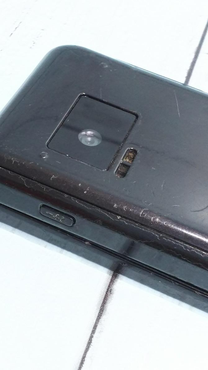 docomo Panasonic P-smart ケータイ P-01J ブラック 本体 白ロム SIMロック解除済み SIMフリー 371218_画像10
