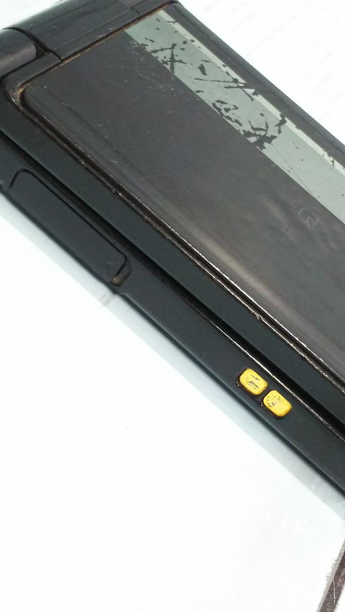 docomo Panasonic P-smart ケータイ P-01J ブラック 本体 白ロム SIMロック解除済み SIMフリー 371218_画像7