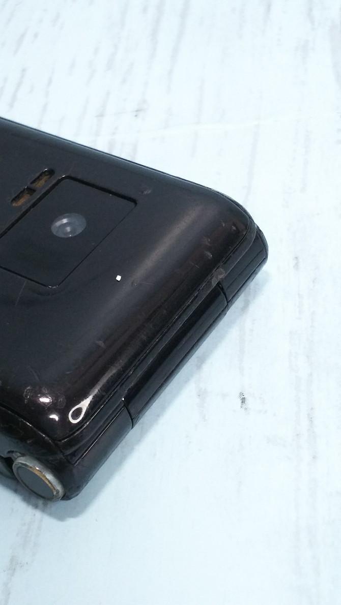 docomo Panasonic P-smart ケータイ P-01J ブラック 本体 白ロム SIMロック解除済み SIMフリー 371218_画像8