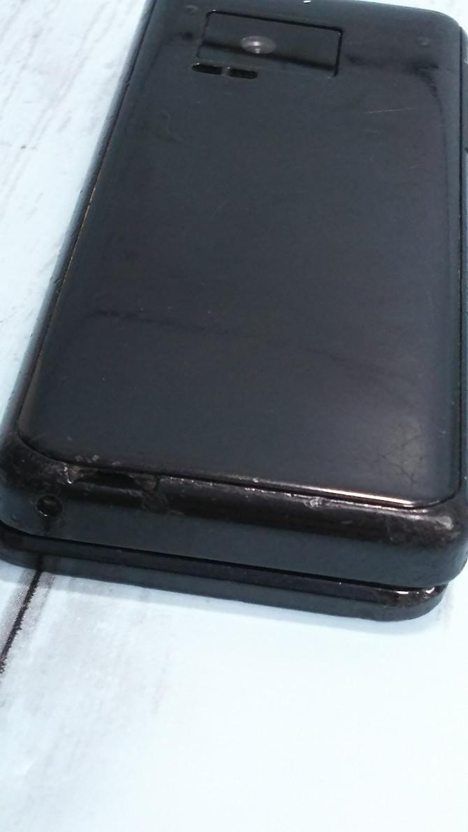 docomo Panasonic P-smart ケータイ P-01J ブラック 本体 白ロム SIMロック解除済み SIMフリー 371218_画像9