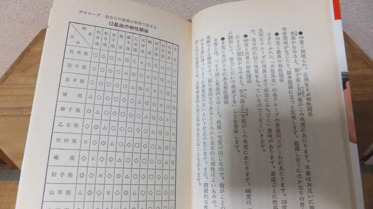 出世相性講座 バカにできない星占いの法則 阿難田_画像10