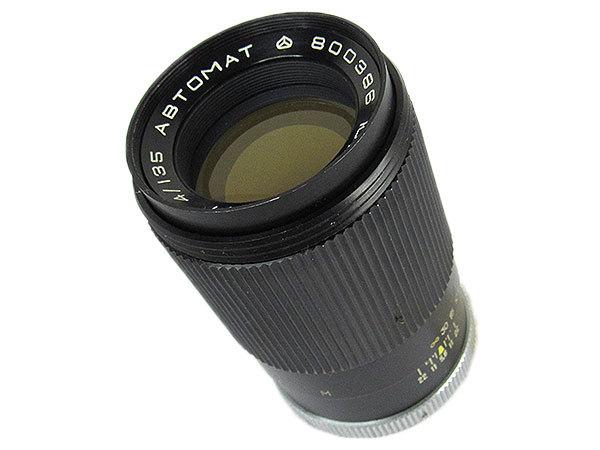 【オールドレンズ】【ロシアレンズ】JUPITER-11 135mm/f4 ABTOMAT【現状品】【ジャンク】_画像2