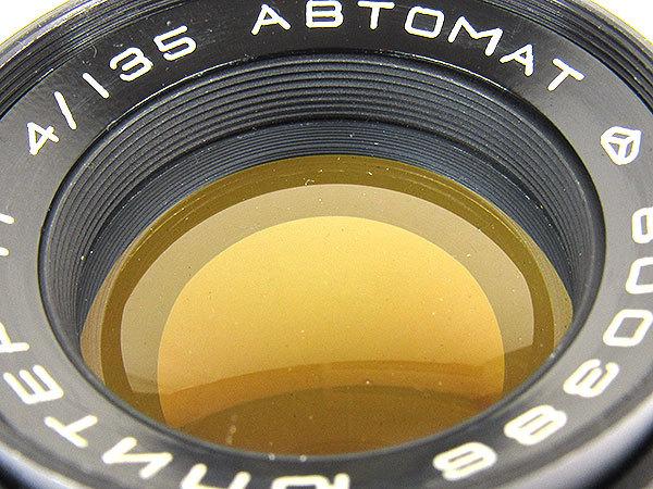 【オールドレンズ】【ロシアレンズ】JUPITER-11 135mm/f4 ABTOMAT【現状品】【ジャンク】_画像6
