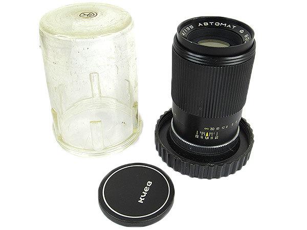 【オールドレンズ】【ロシアレンズ】JUPITER-11 135mm/f4 ABTOMAT【現状品】【ジャンク】_画像1