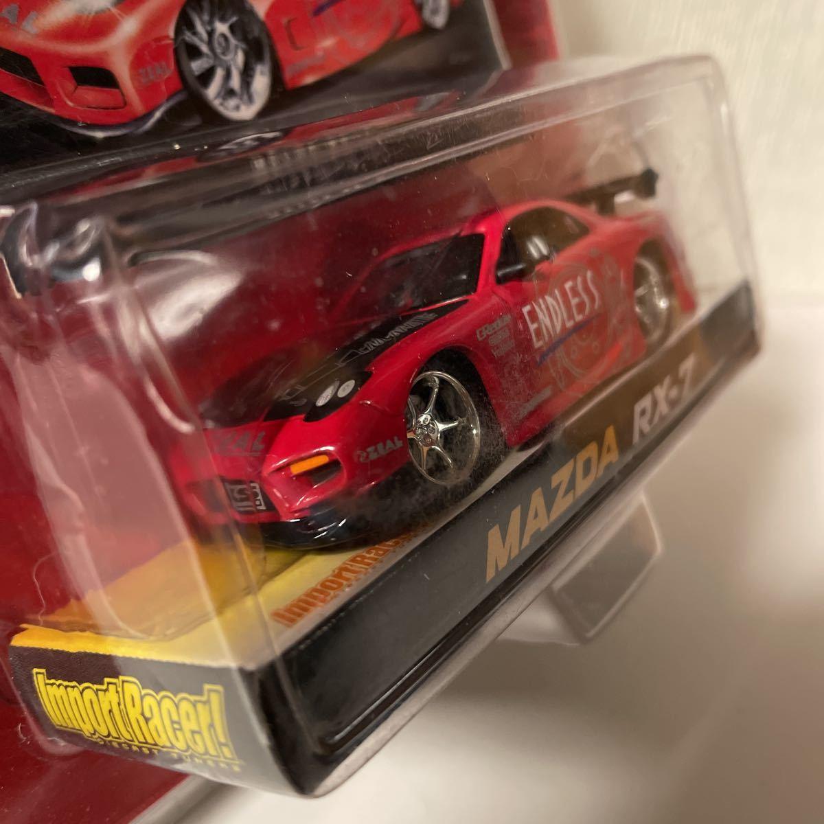 Jada ジェイダ Import Racer Mazda RX-7 Endless マツダ 1/64_画像3