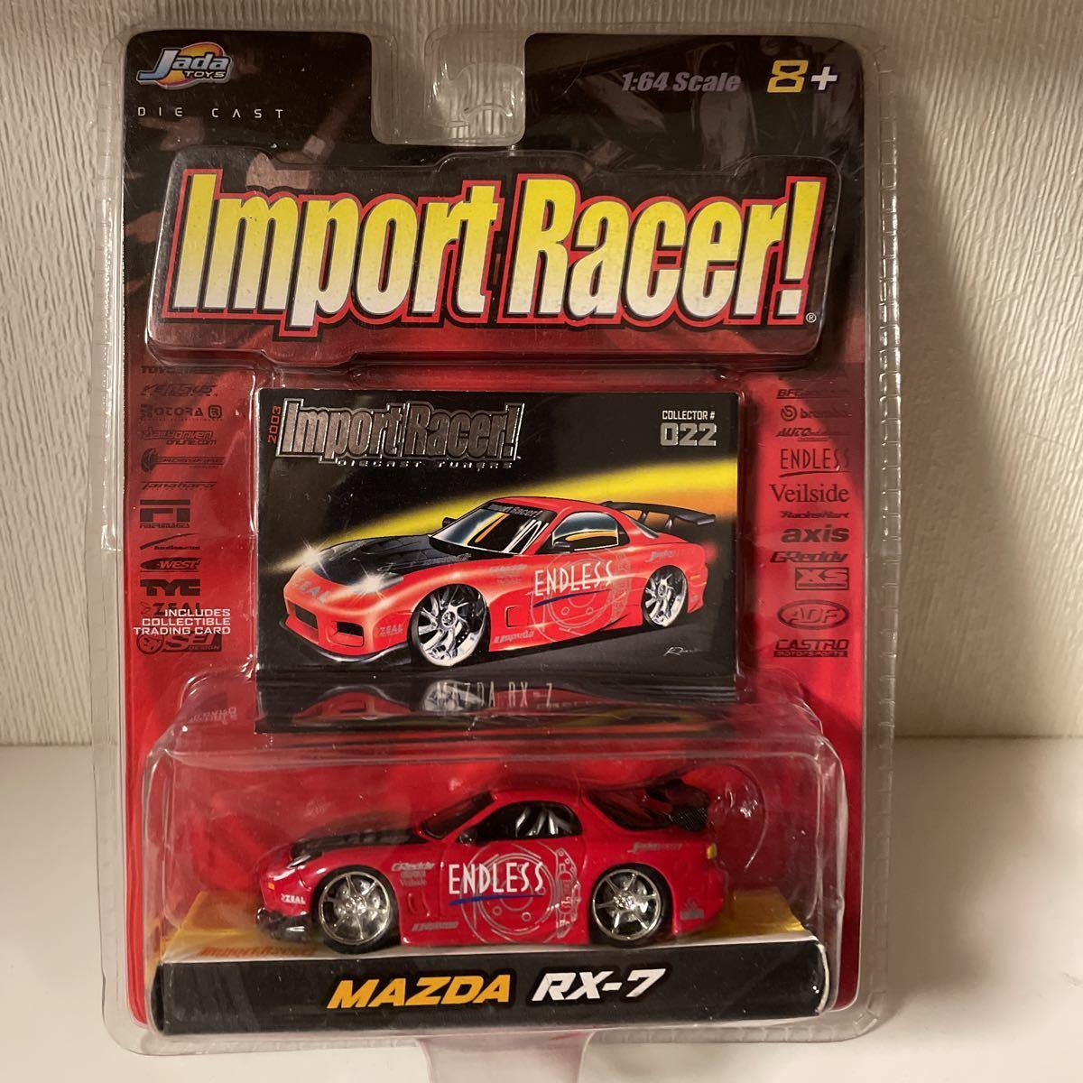 Jada ジェイダ Import Racer Mazda RX-7 Endless マツダ 1/64_画像1