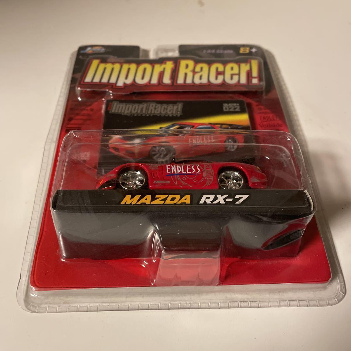 Jada ジェイダ Import Racer Mazda RX-7 Endless マツダ 1/64_画像7