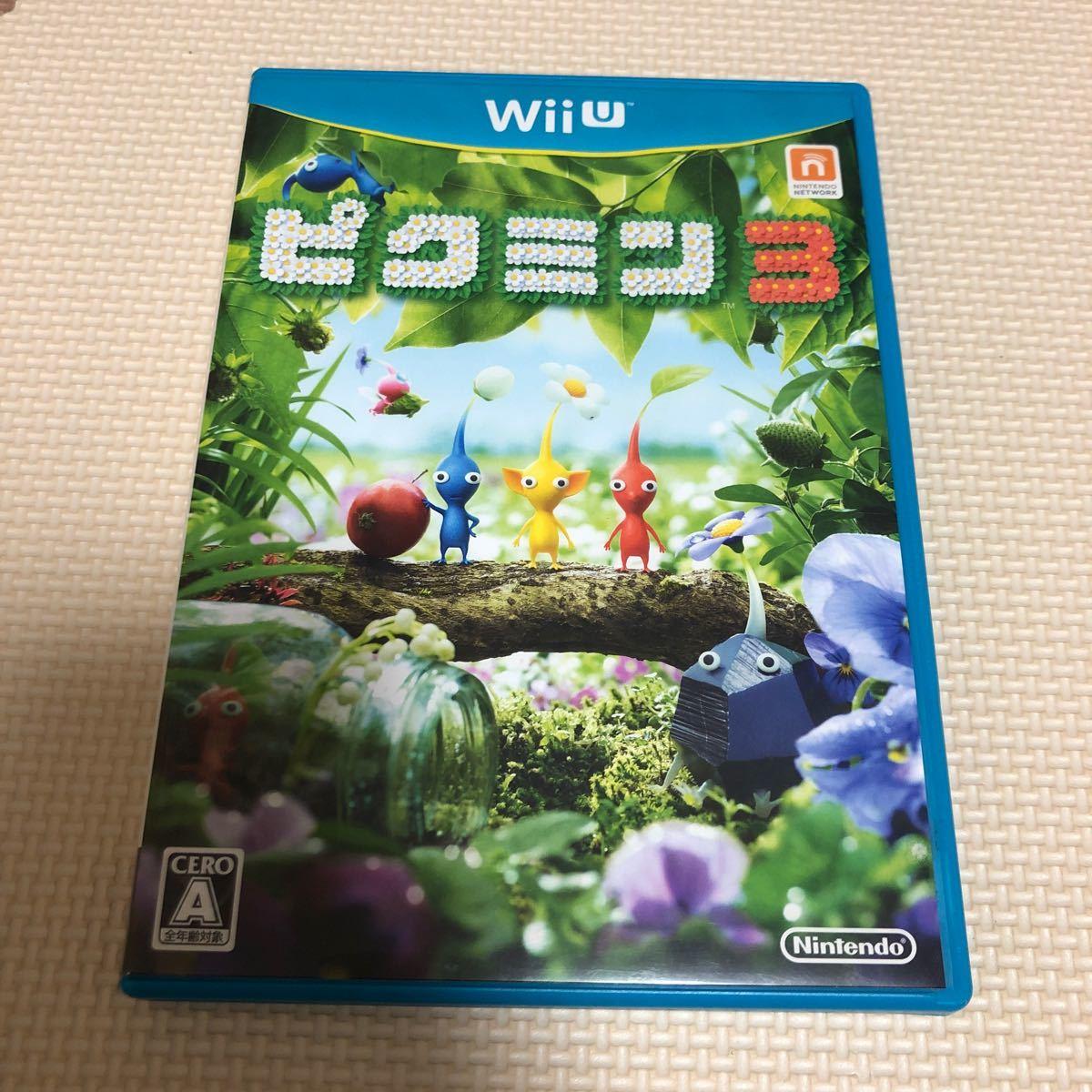 WiiU ピクミン3のソフトです。
