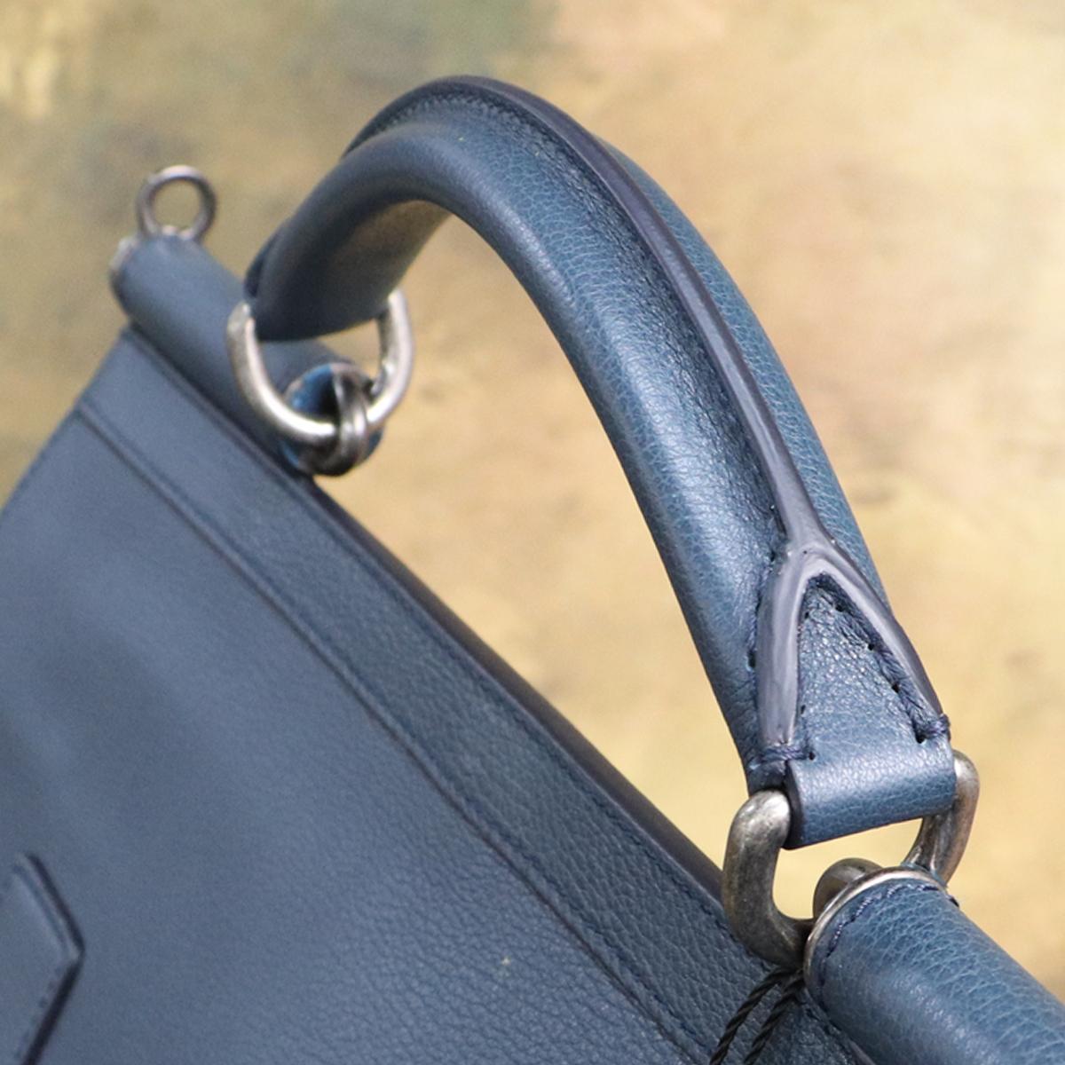 本物 新品 ドルガバ 極希少 メンズ シシリー レザービジネスバッグ 斜め掛け2WAYブリーフケース A4書類トートバッグ DOLCE&GABBANA_画像3