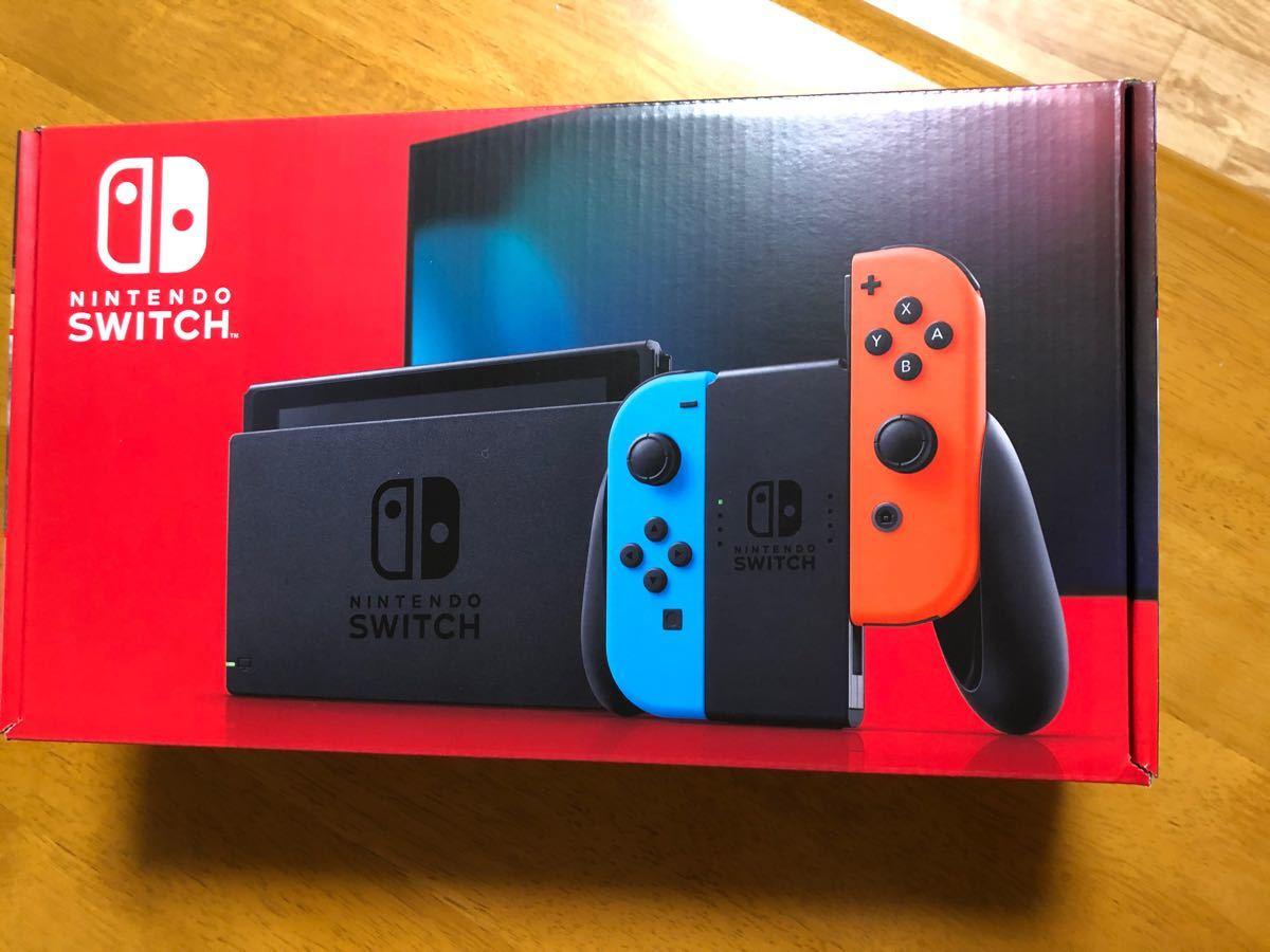 Nintendo Switch ネオンブルー ネオンレッド Switch本体 ニンテンドースイッチ本体