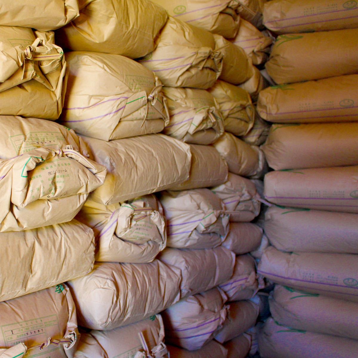 G065【送料無料】玄米 中米 令和2年産 1.89~1.80mm 約24~25kg 色選済 ハナエチゼン・コシヒカリ・つや姫・きぬむすめ 島根県産 2020年産_画像6