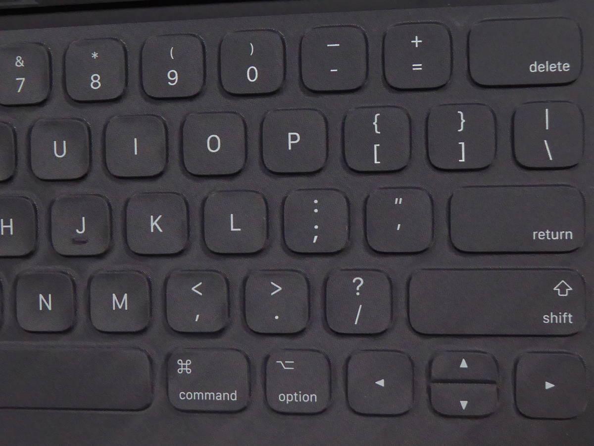 Apple iPad Pro Smart keyboard A1636 スマートキーボード 英語配列_画像2