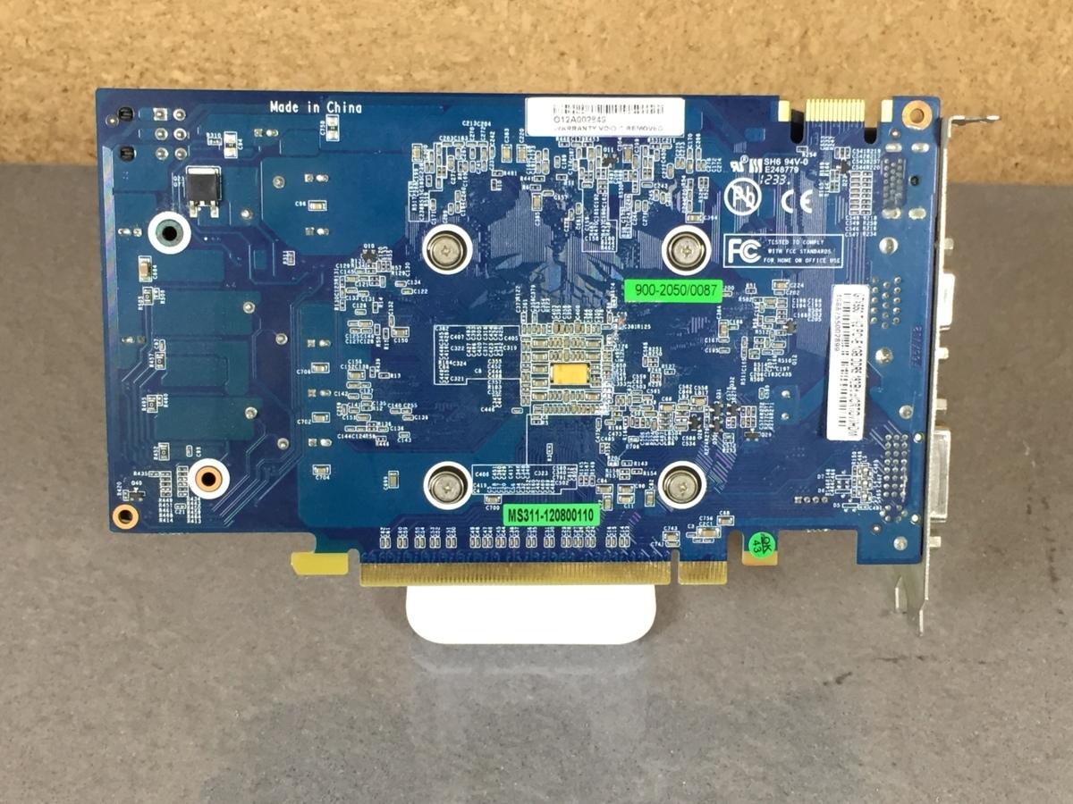 1円~【ジャンク】玄人志向 GeForce GTX 550Ti GDDR 1G 【訳あり】_画像6