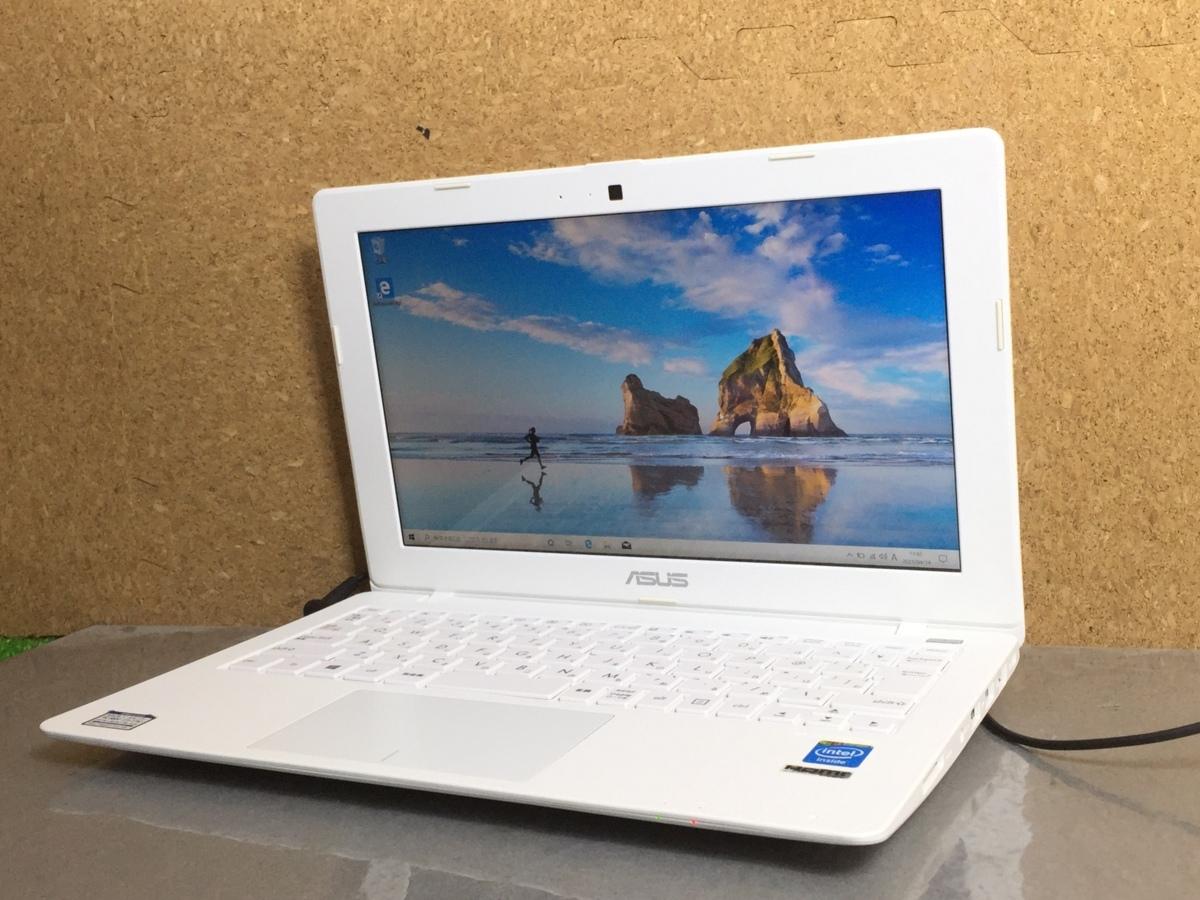 1円~【訳アリ】11.6インチ/Windows10/office搭載/Webカメラ搭載!ビデオ通話対応【ASUS X200M X200MA】Celeron N2830/メモリ4GB/HDD500GB_画像1