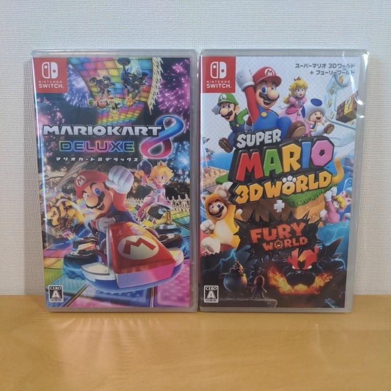 Nintendo Switch スーパーマリオ 3Dワールド+フューリーワールド マリオカート8デラックス ニンテンドースイッチ