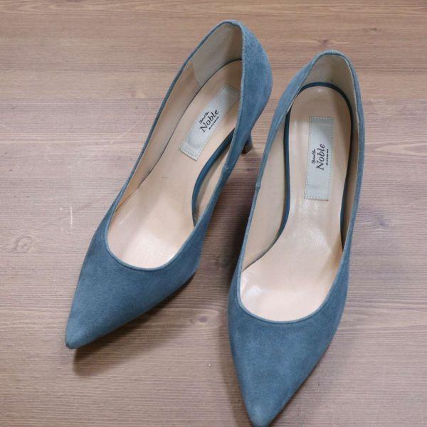 Spick and Span Noble スピック&スパン 通年 スエード パンプス シューズ 靴 Sz.23.5cm レディース E1G00181_3#U_画像1