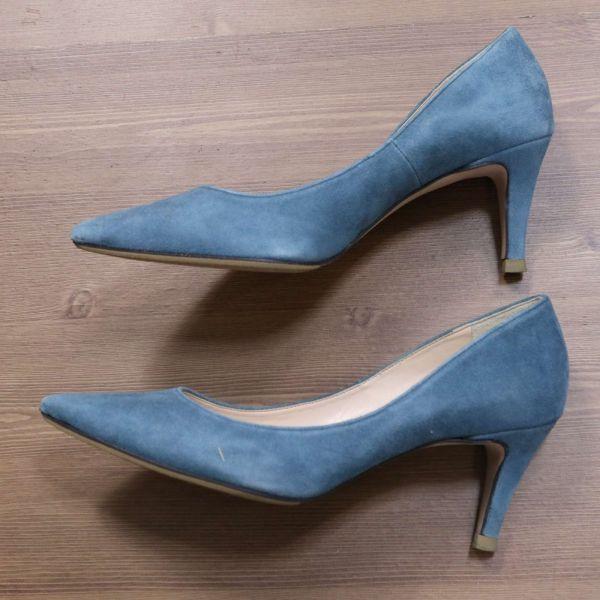 Spick and Span Noble スピック&スパン 通年 スエード パンプス シューズ 靴 Sz.23.5cm レディース E1G00181_3#U_画像4