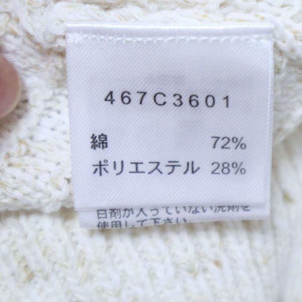 【新品 未使用】 Golden Bear ゴールデンベア 春夏 ニット セーター Sz.M レディース E1T00977_4#J_画像6