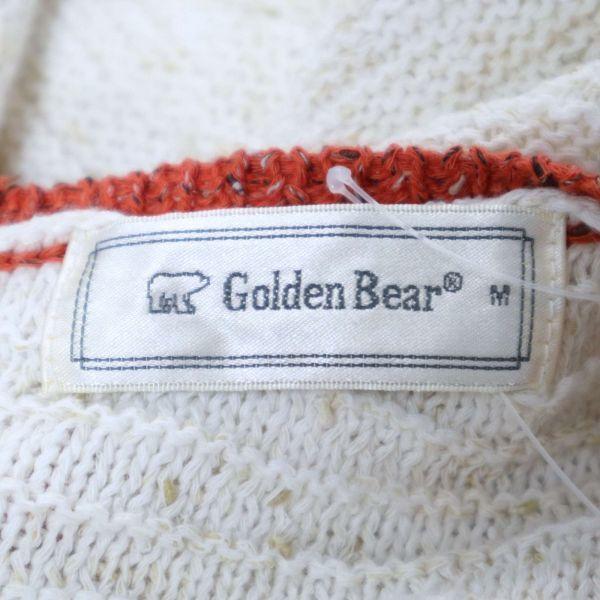 【新品 未使用】 Golden Bear ゴールデンベア 春夏 ニット セーター Sz.M レディース E1T00977_4#J_画像5