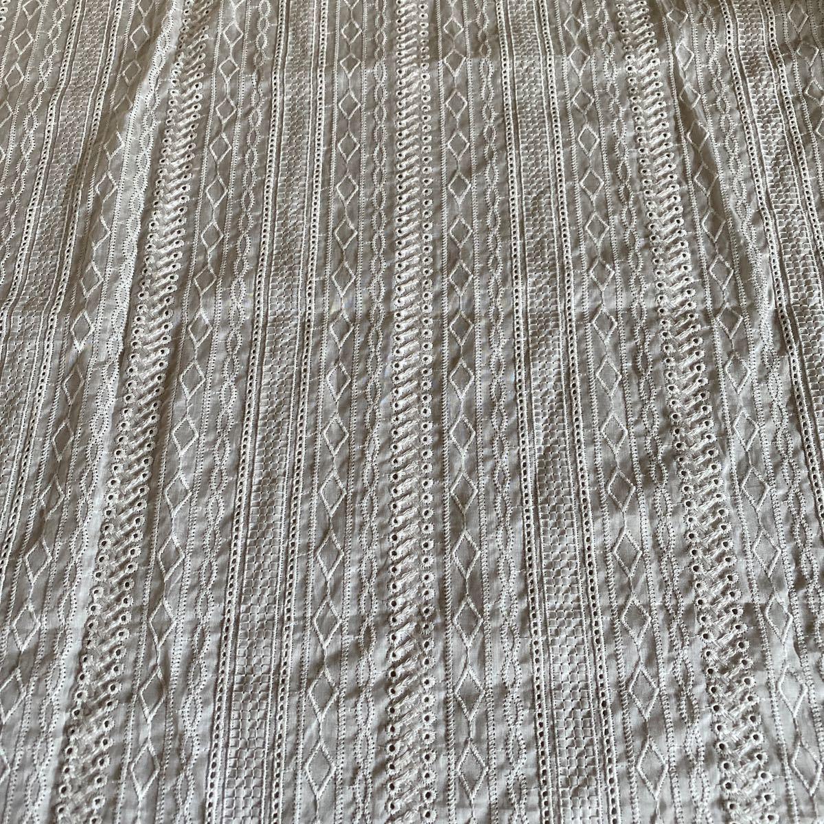 刺繍レース生地 生地幅×50cm