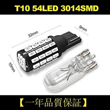 赤色 T10 GOSMY T10 LED レッド 爆光 12V-24V車用ライセンスランプ/ナンバー灯/ルームランプ/メーター球_画像2