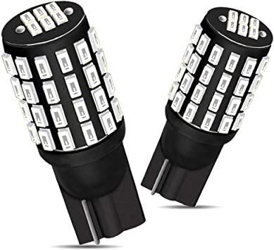 赤色 T10 GOSMY T10 LED レッド 爆光 12V-24V車用ライセンスランプ/ナンバー灯/ルームランプ/メーター球_画像1
