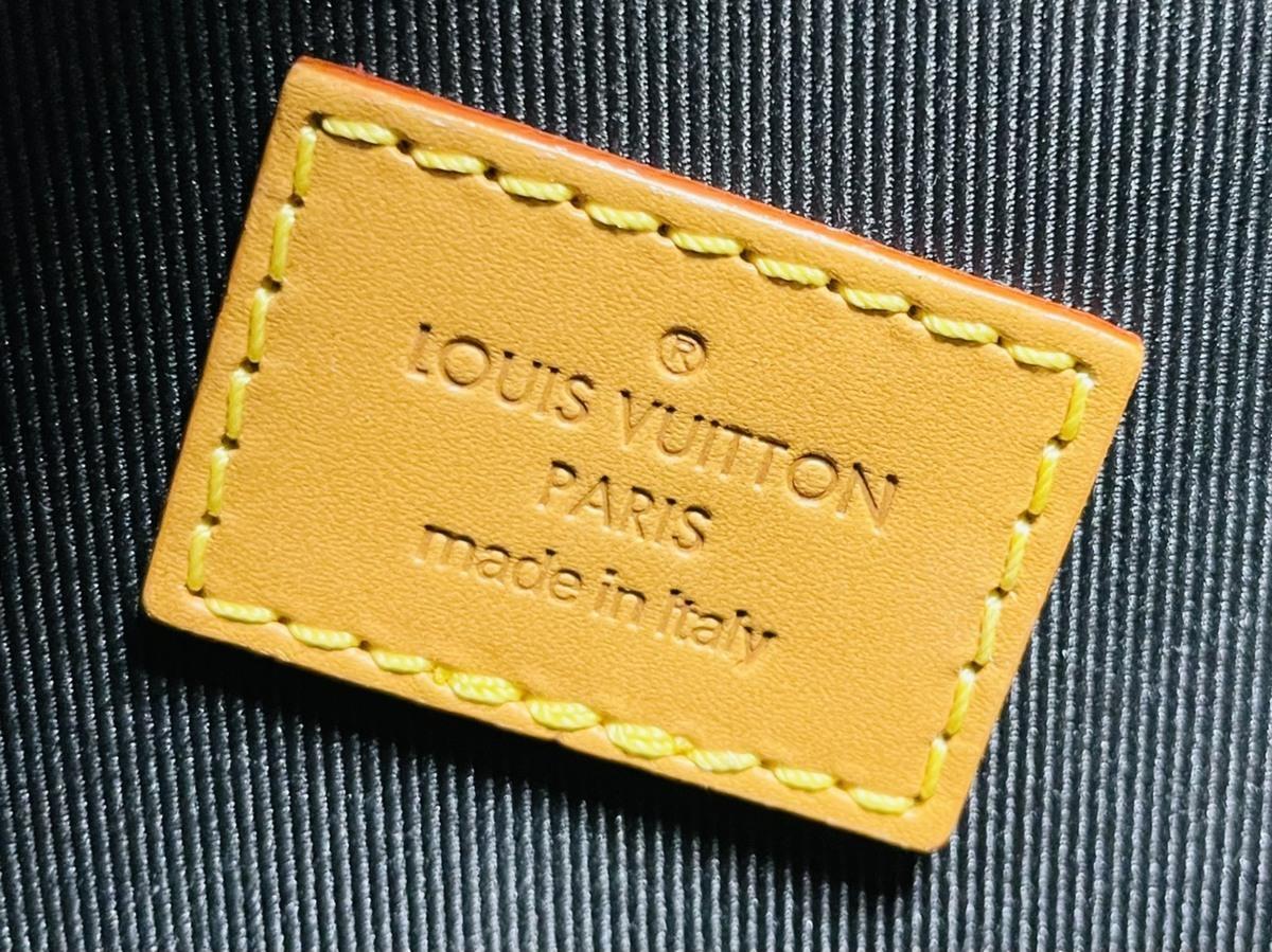 Louis Vuitton ルイヴィトン NIGO コラボ 2way ミニトート ショルダーバッグ ダミエ・エベヌ ジャイアントキャンバス モノグラム N40355_画像8