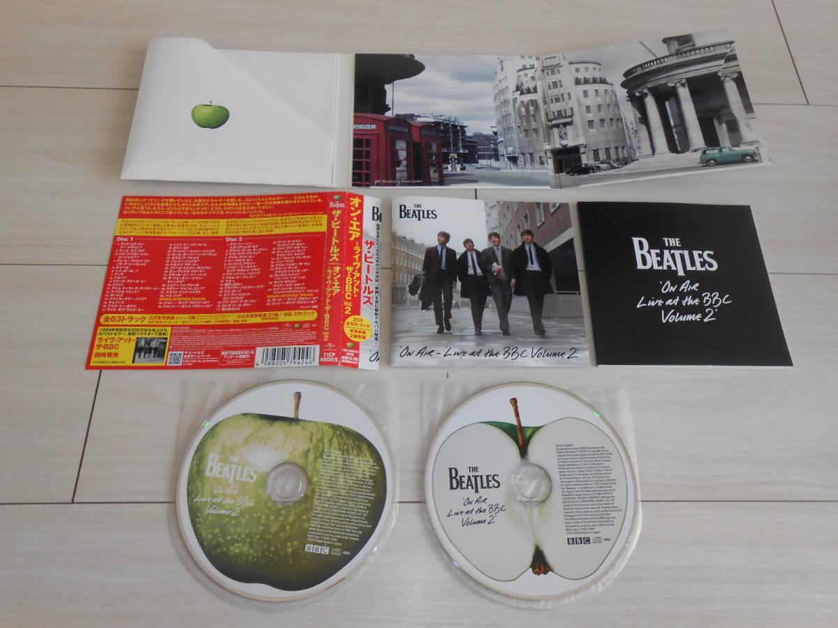 BEATLES/ビートルズ/オンエアライブアットザBBC/Vol.2/ジョンレノン/ポールマッカートニー/ジョージハリスン/リンゴスター/