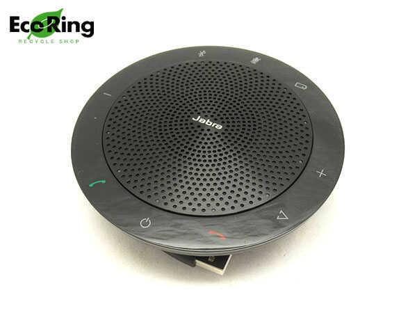 1円 未使用 ジャブラ Jabra Speak 510 MS USB/Bluetooth両対応 スピーカーフォン7510-109 ブラック BH567