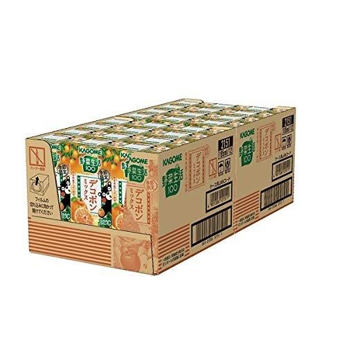 【即決・送料無料】カゴメ 野菜生活100 デコポンミックス 195ml 24本_画像5