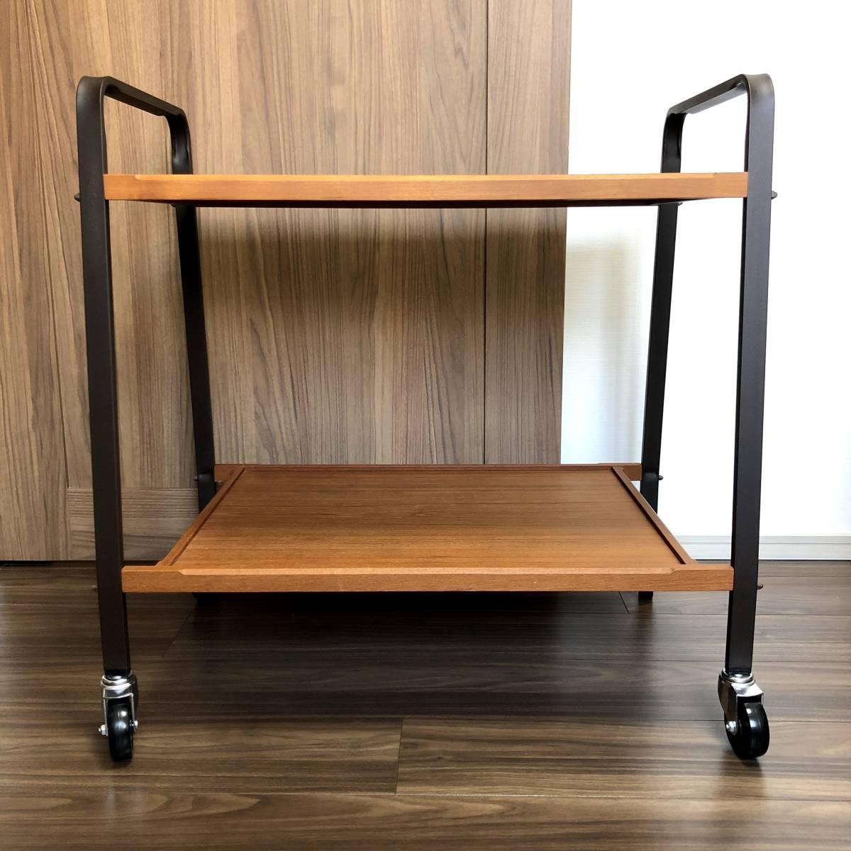 【東京手渡し可】TRUCK furniture トラックファニチャー SERVING CART サービングカート_画像1