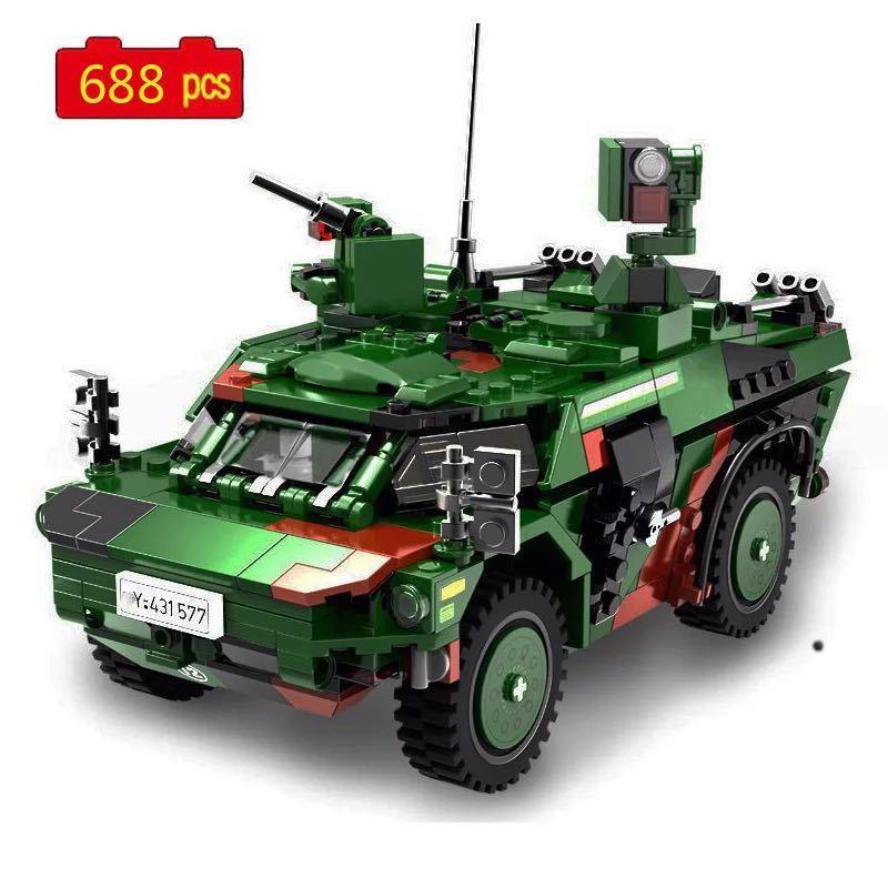 LEGO互換 フェネック偵察車_画像1