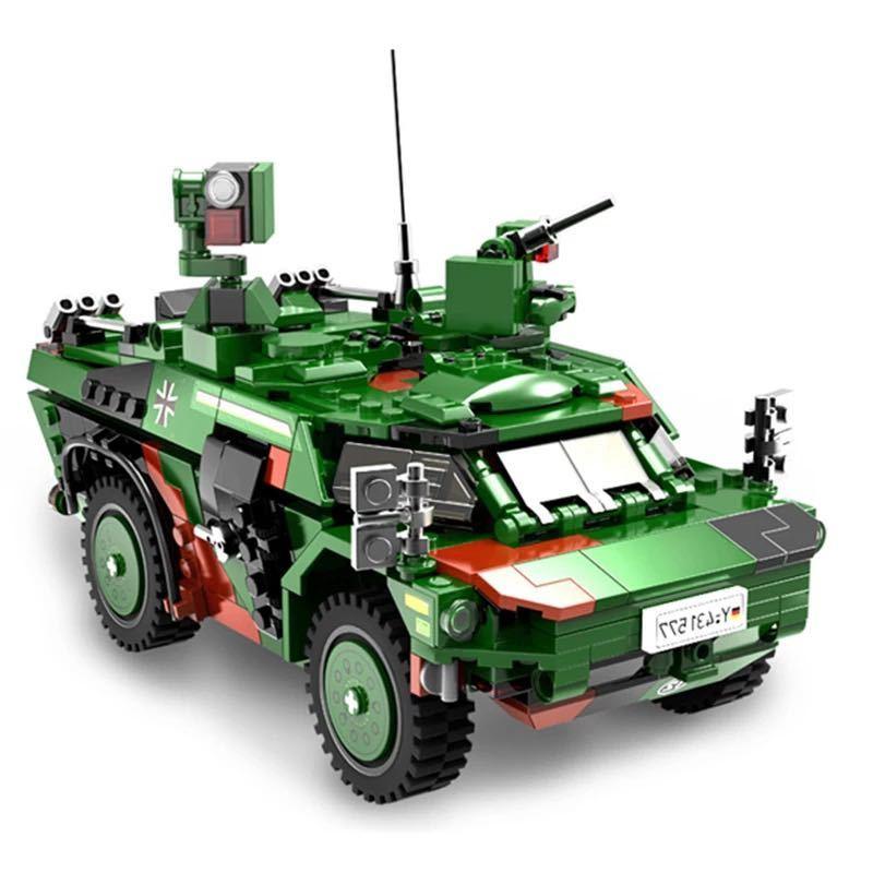 LEGO互換 フェネック偵察車_画像4