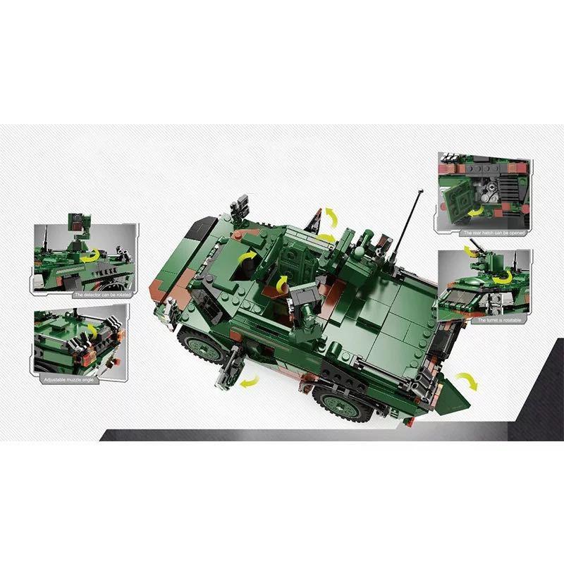 LEGO互換 フェネック偵察車_画像2