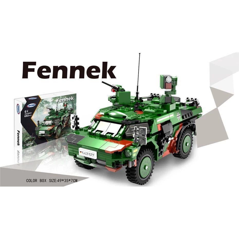 LEGO互換 フェネック偵察車_画像3