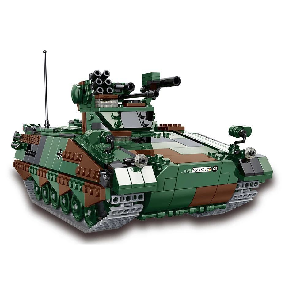 LEGO互換 マルダー歩兵戦闘車_画像4