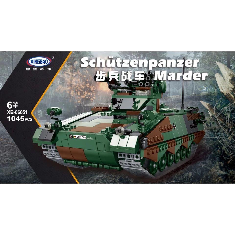 LEGO互換 マルダー歩兵戦闘車_画像1
