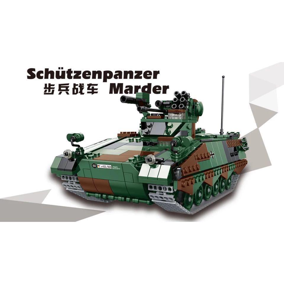 LEGO互換 マルダー歩兵戦闘車_画像3