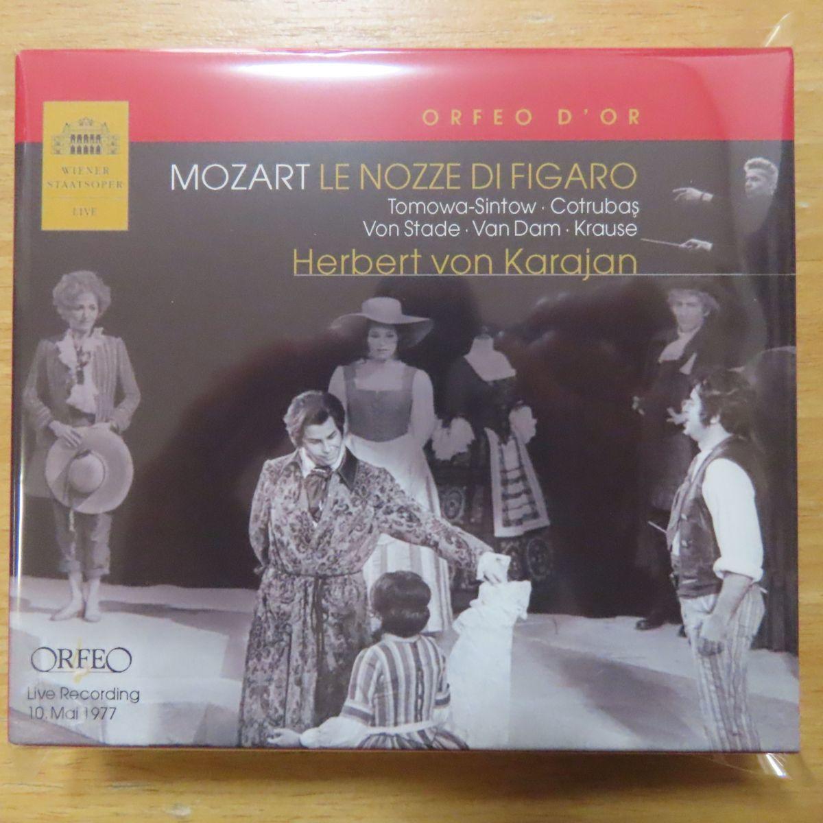 4988003427344;【未開封/3CDBOX】カラヤン / モーツァルト:歌劇《フィガロの結婚》全曲