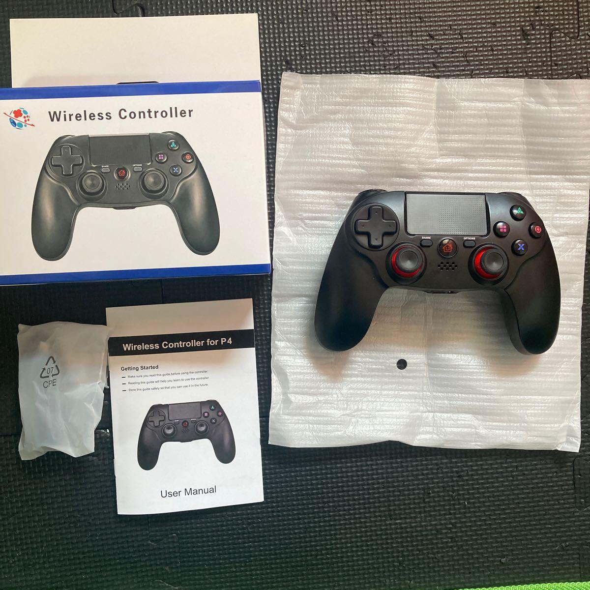 ワイヤレスコントローラー(PS4 FPS用)
