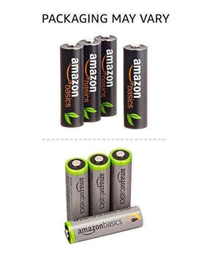 高容量単3形4個パック Amazonベーシック 充電池 高容量充電式ニッケル水素電池単3形4個セット (充電済み、最小容量 24_画像3