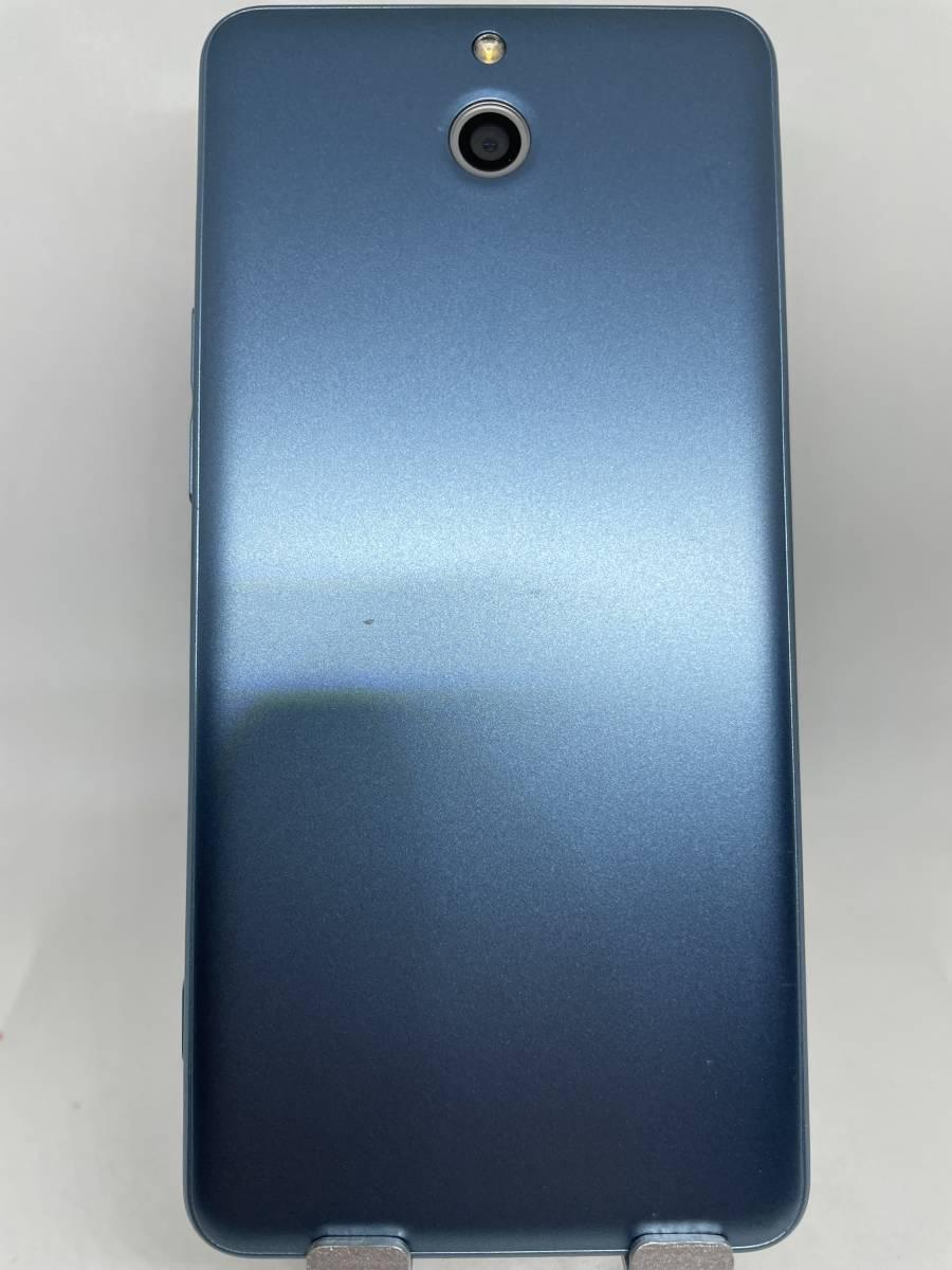 【良品・動作良好・安心保障・迅速発送】Y!Mobile かんたんスマホ 705KC ブルー_画像4