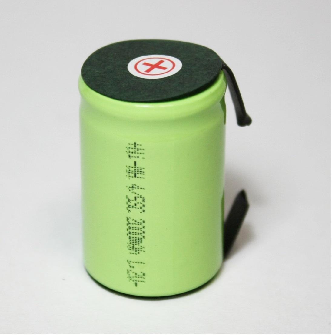 ★22.5x34mm NI-MH 4/5 SC ニッケル水素 セル タブ付 エアガン 電動ガン ドライバー ドリル 工具 掃除機 インパクト 充電池 バッテリー03_画像2