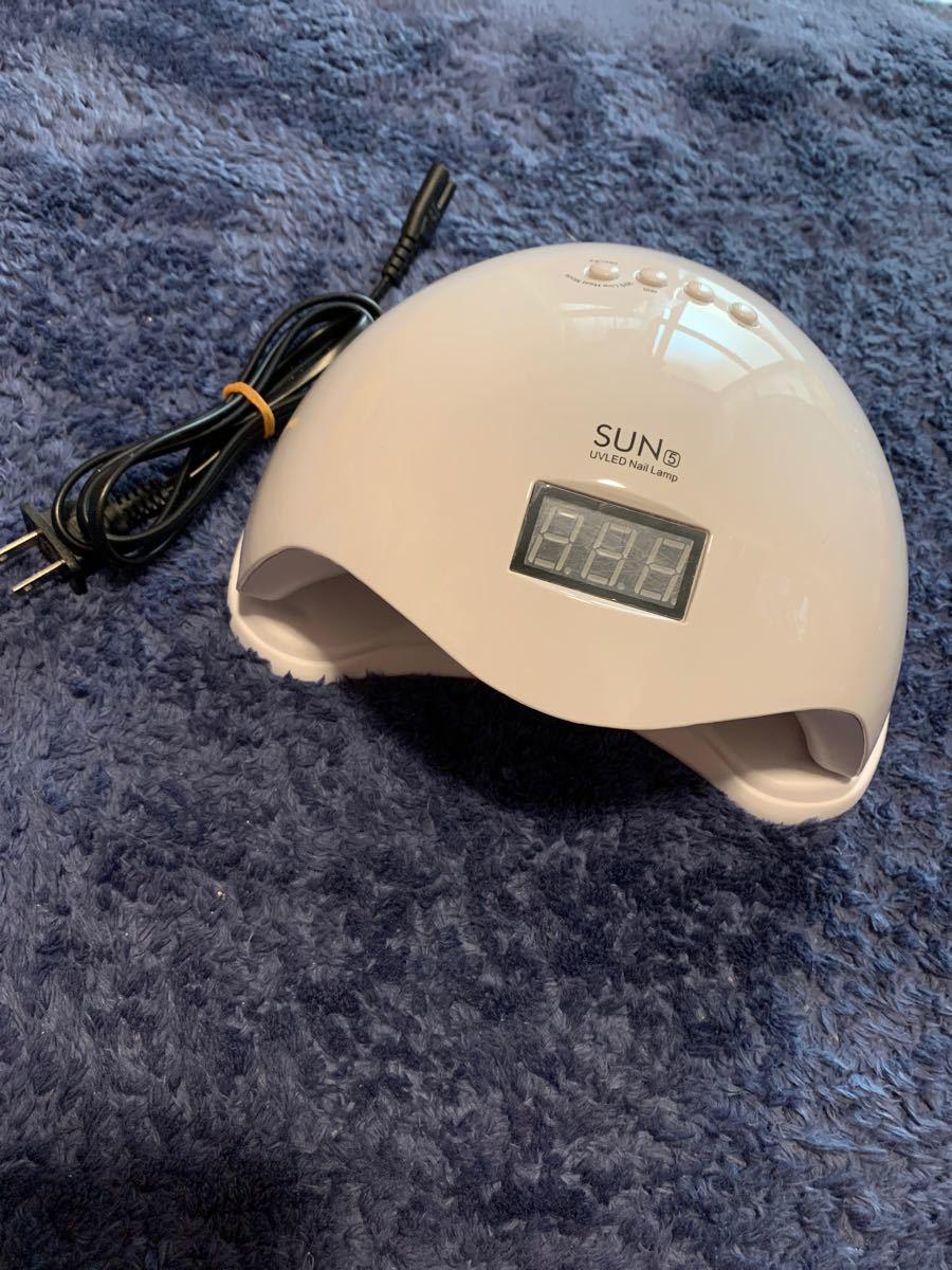 セリアのジェル1本プレゼント付き!!48wLEDライト    ネイルライト LED ジェルネイルライト 自動