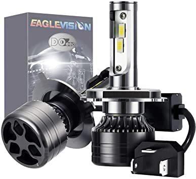 ★2時間セール価格★2個入 H4 車用 LED ヘッドライト 24000LM(12000*2) IP68防水 120W 6000_画像1