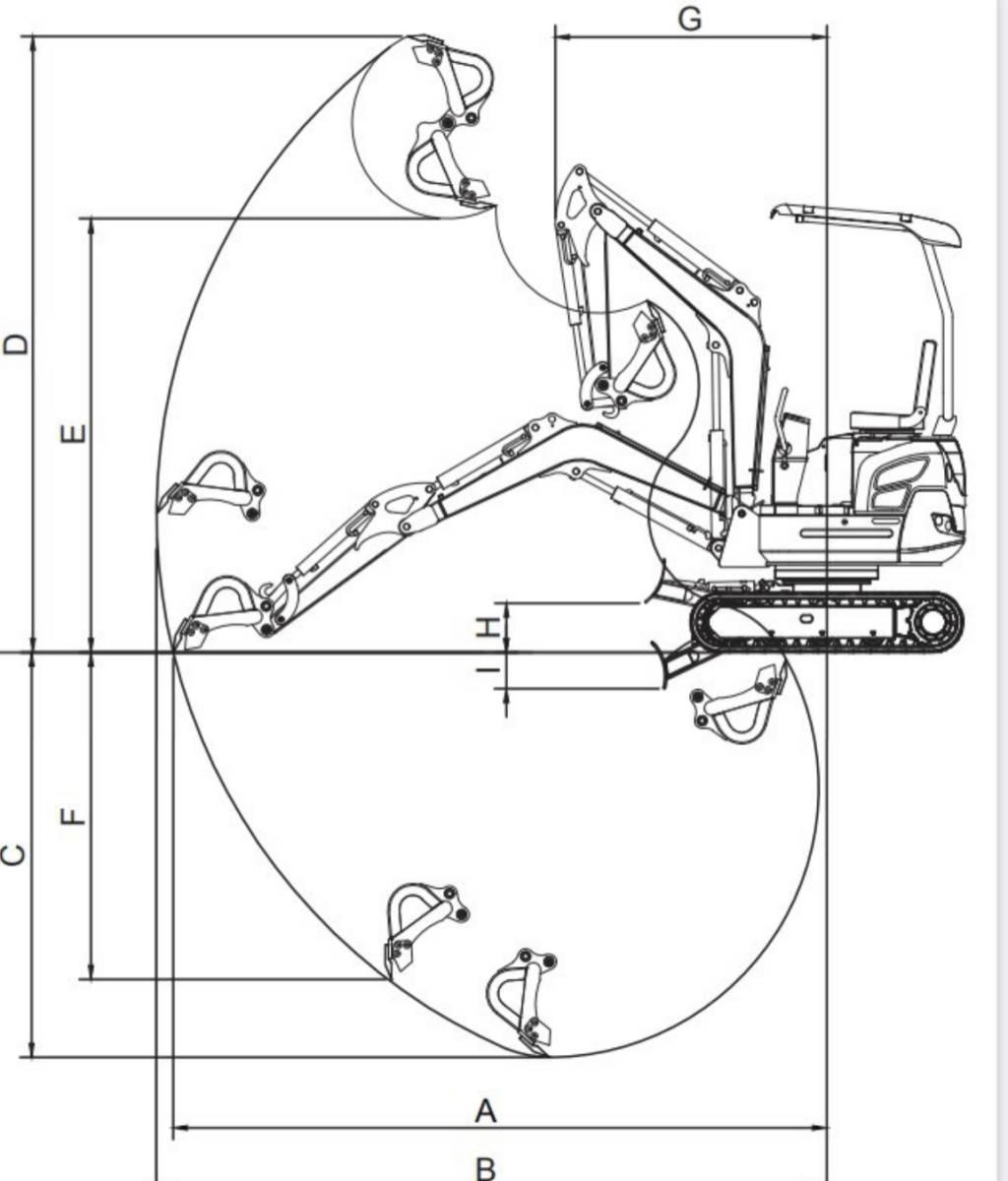 ミニショベル 新品 YE15T-2 ヤンマーディーゼル 3気筒 倍速 送料無料 ブレカー配管 25%オフ 家庭菜園 災害対策 災害対策など_画像7