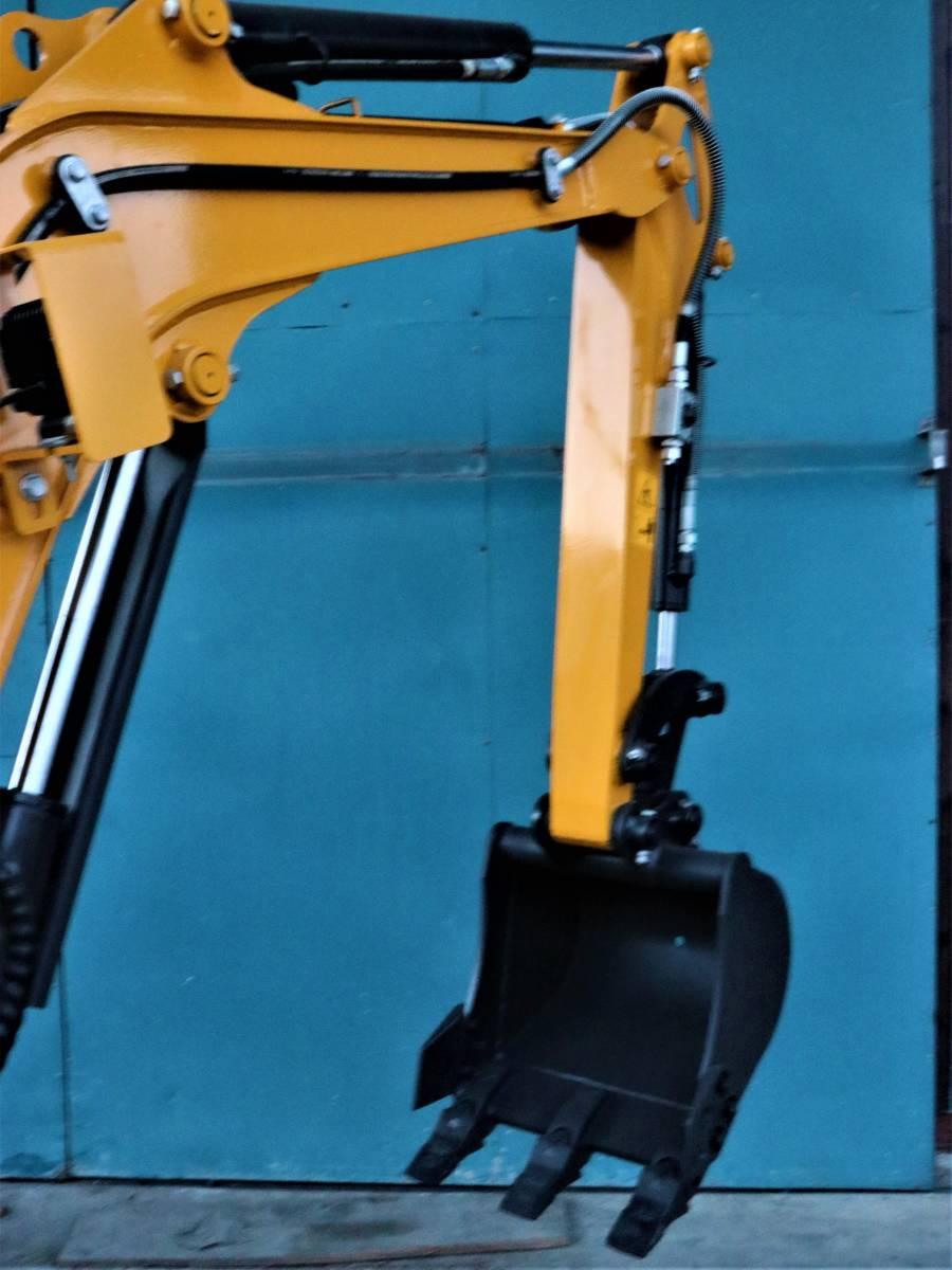 ミニショベル 新品 YE15T-2 ヤンマーディーゼル 3気筒 倍速 送料無料 ブレカー配管 25%オフ 家庭菜園 災害対策 災害対策など_画像4